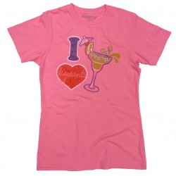 I Heart Margaritaville Tee - Cotton Candy