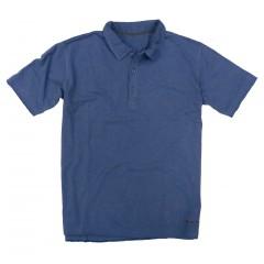 Freeport Slub Polo - Infinity Blue