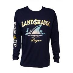Landshark Long Sleeve Tee - Navy