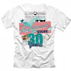 Key West 30th Anniversary Tee - White